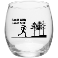2017 Finisher's Glass!