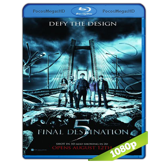 Destino final 5 (2011) BRRip 1080p Audo Trial Latino/Castellano/Ingles 5.1