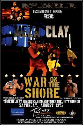 War on the Shore Boxing Roy Jones Jr Presents Monty Meza-Clay at Rivers Casino
