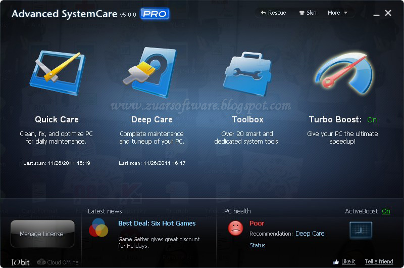 Advanced System Care Pro 5 Full Version + Serial Number Download ...