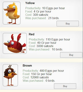 Game Faucet Peternakan Burung Penghasil Bitcoin , FaucetBirds