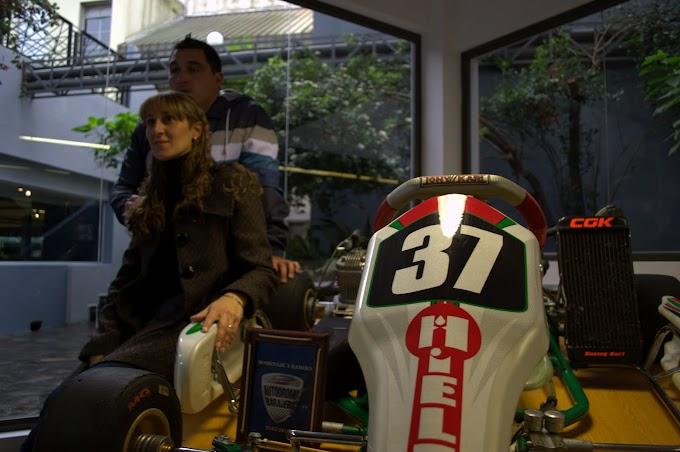 La familia de Ramiro Tot donó el Kart al Museo Fangio