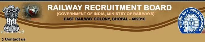 RRB Bhopal Logo