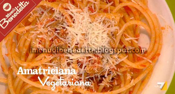 Amatriciana Vegetariana al Seitan di Benedetta Parodi