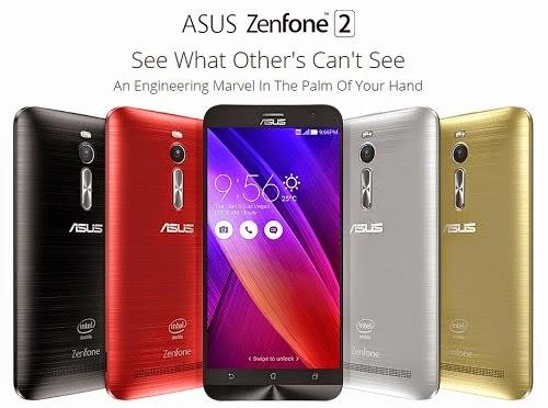 Spesifikasi ASUS Zenfone 2 64GB
