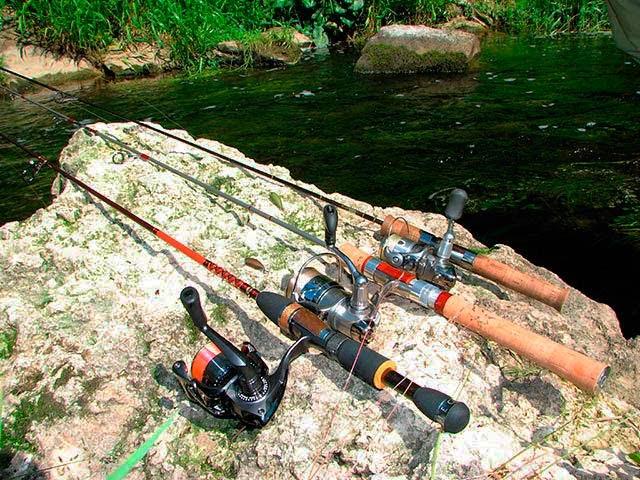 рыбалки удилище спиннинг