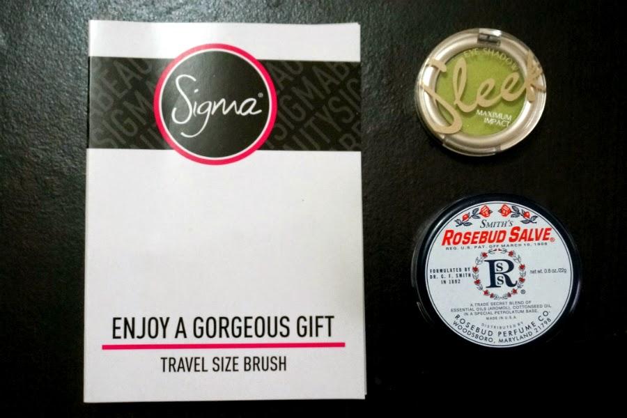 Rosebud Salve, Sleek, Sigma, from Luxola.com