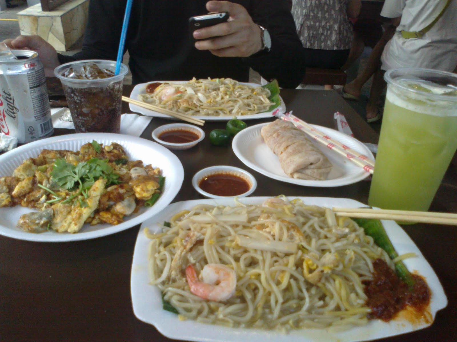 I talk you listen east coast lagoon food village for Cuisine xeno