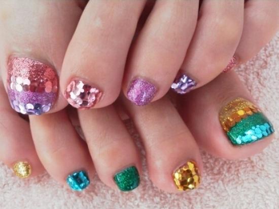 Cool Toe Nail Art Designs 2012 Landrys Lifestyles Blog