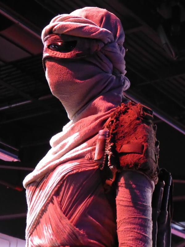 Rey costume head wrap Star Wars Force Awakens