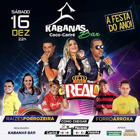 KABANAS BAR APRESENTA - FESTA FIM DE ANO