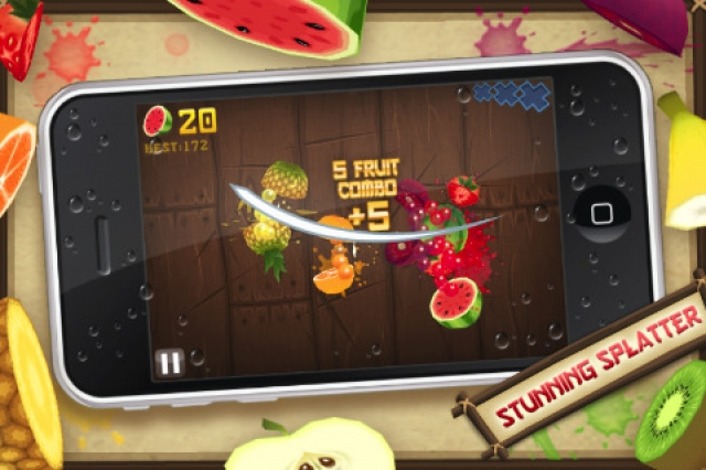 FruitNinja game for Iphone