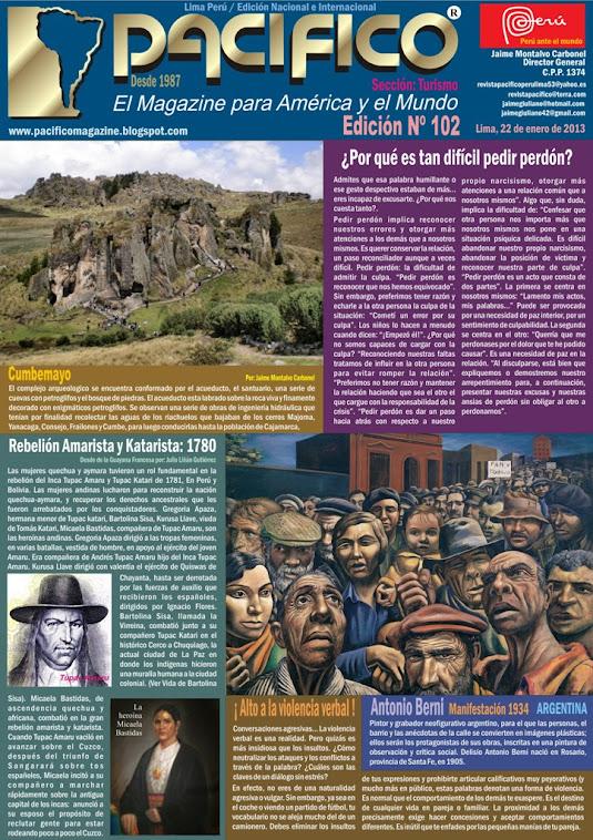 Revista Pacífico Nº 102 Turismo