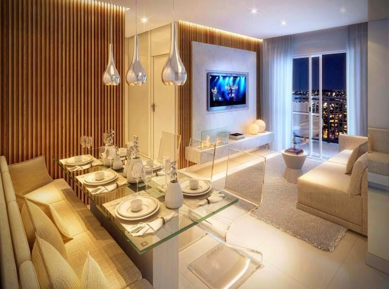 Construindo minha casa clean canto alem o moderno na for Mesas para apartamentos pequenos