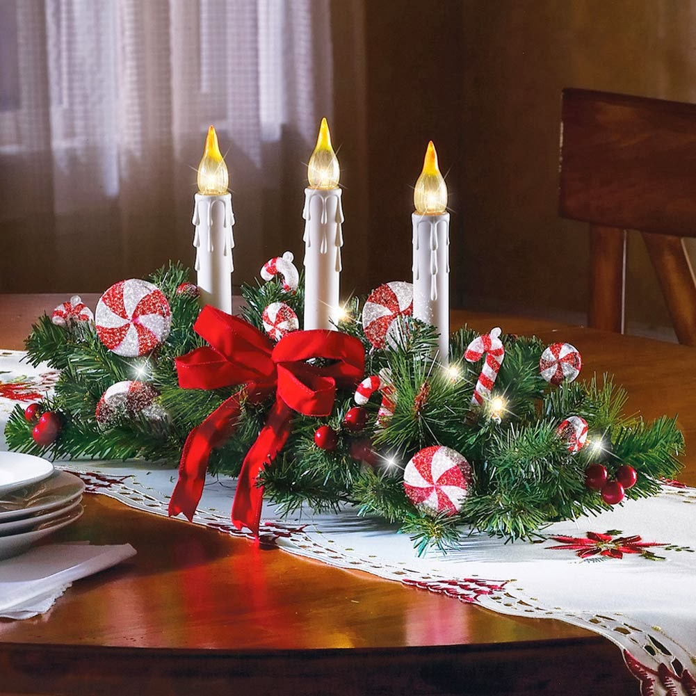 christmas table decoration green color part 1 - Red And Green Christmas Table Decorations