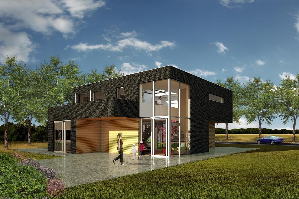 Huisontwerp huis bouwen prijs for Prijzen nieuwbouw vrijstaande woning
