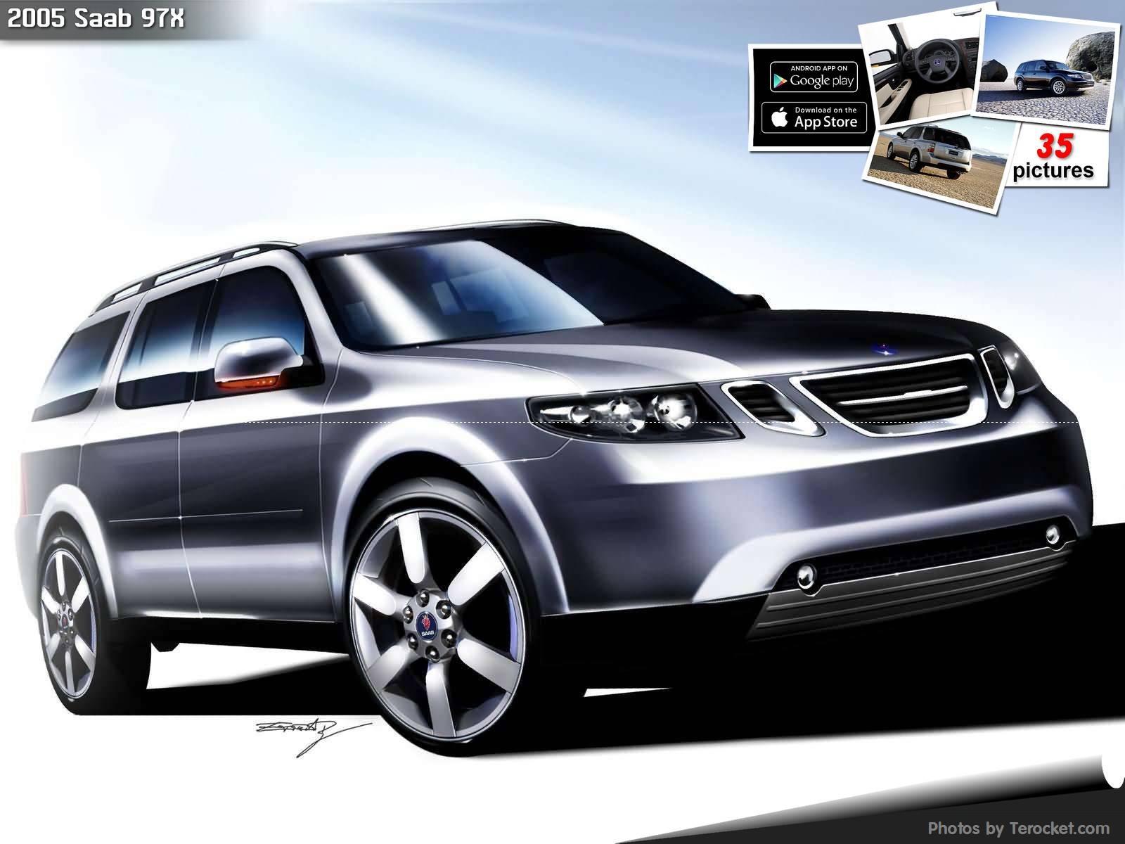 Hình ảnh xe ô tô Saab 97X 2005 & nội ngoại thất