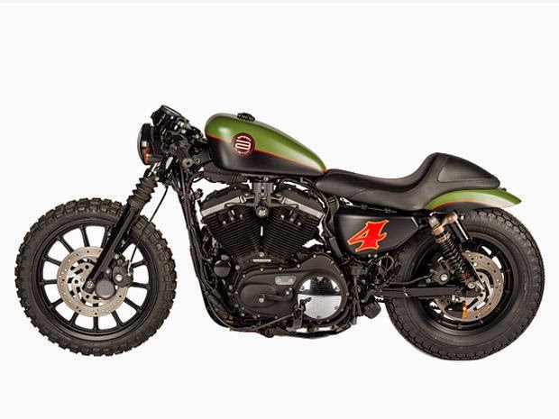"Populaire garage italiano: HARLEY-DAVIDSON XL 883 N ""MAD MAX"" by SHAW SPEED  MW18"