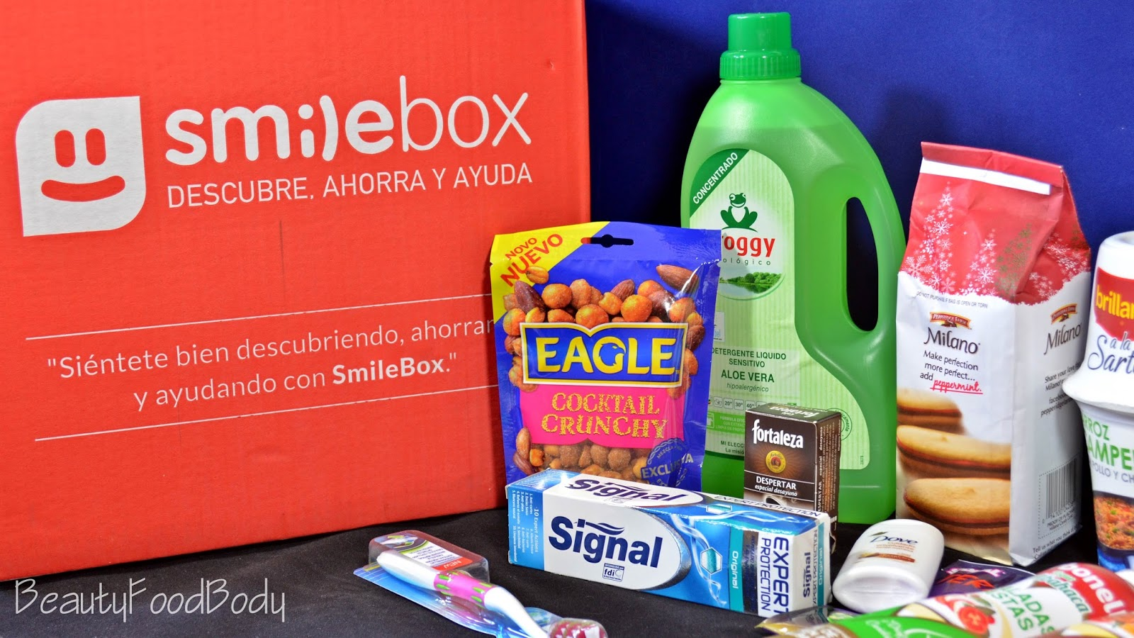review opinion reseña smilebox all star caja mensual diciembre 2014 febrero 2015 beautyfoodbody