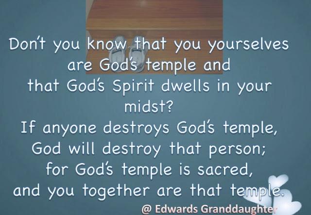 1 Corinthians 3:16-17