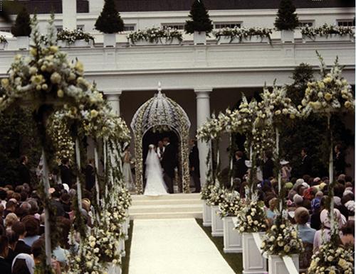 Tricia Nixon Cox Wedding