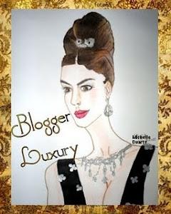 Premio Blogger Luxury de mis amigas Gema y Eva