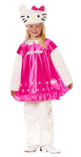 Hello Kitty cute children's Halloween costume