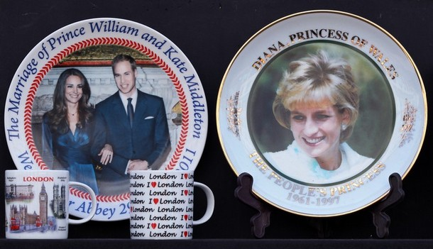 william kate wedding plate. Britain#39;s Prince William will
