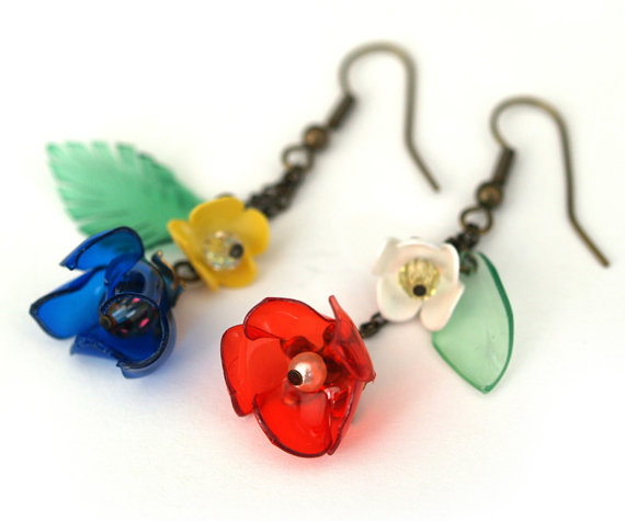 Sandy's Creations in Clay: Plastic Bottle Jewelry