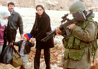 O terrorismo israelense atinge homens, mulheres e crianças