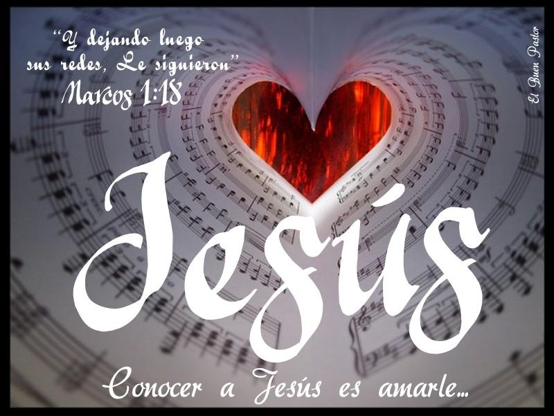 YO SOY EL BUEN PASTOR: Marcos 1:18