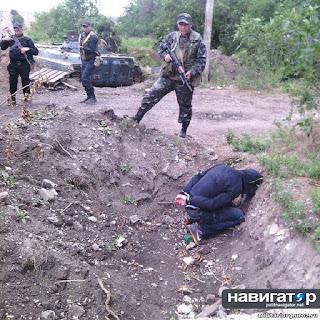 """Как """"воины света"""" защищают мирных жителей Юго - Востока Украины (видео)"""