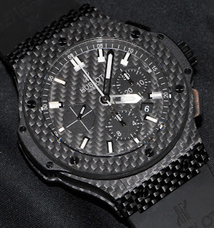 Montre Hublot Big Bang Carbon 44mm référence 301.QX.1724.RX