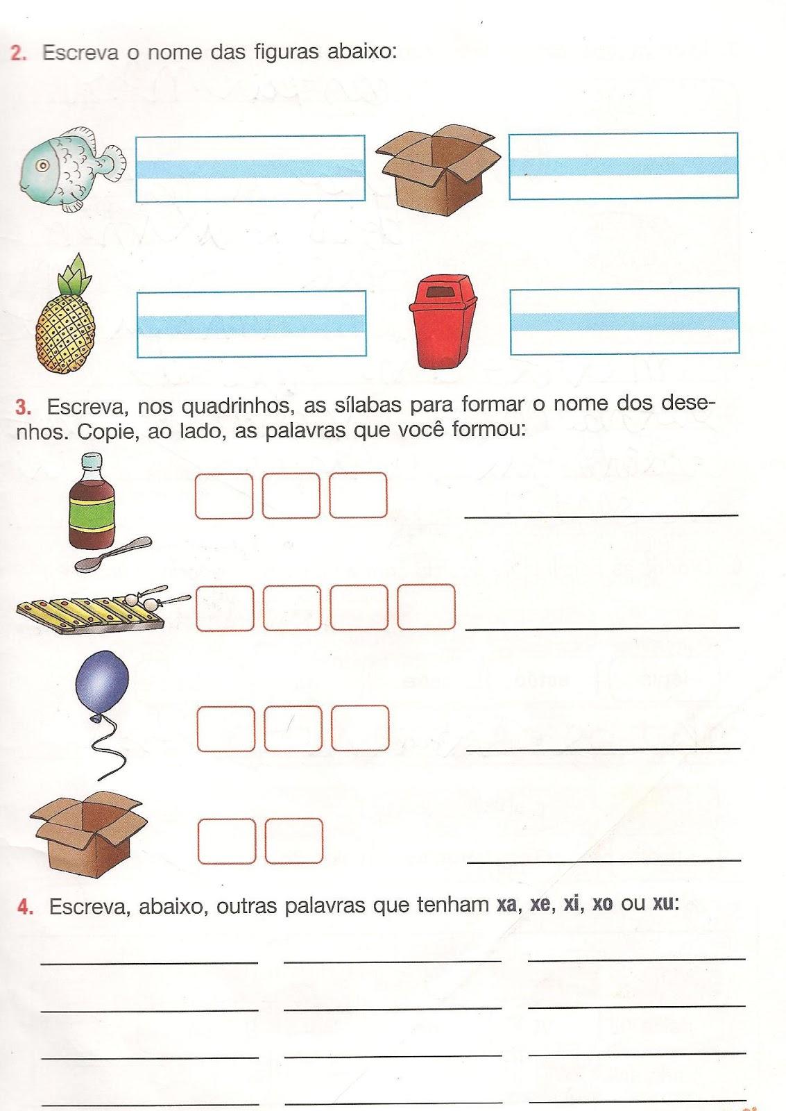 Atividades Portugu  S 1   Ano Do Ensino Fundamental   Exerc  Cios 1