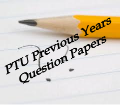 mba ptu question paper