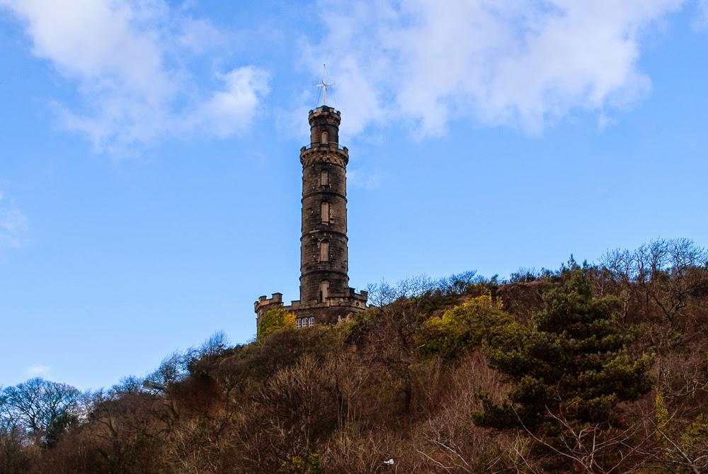 climbing calton hill