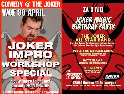 deze week in The Joker