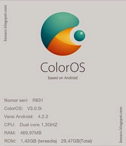 Custom ROM ColorOS V2 (Amber) untuk Evercoss A7S