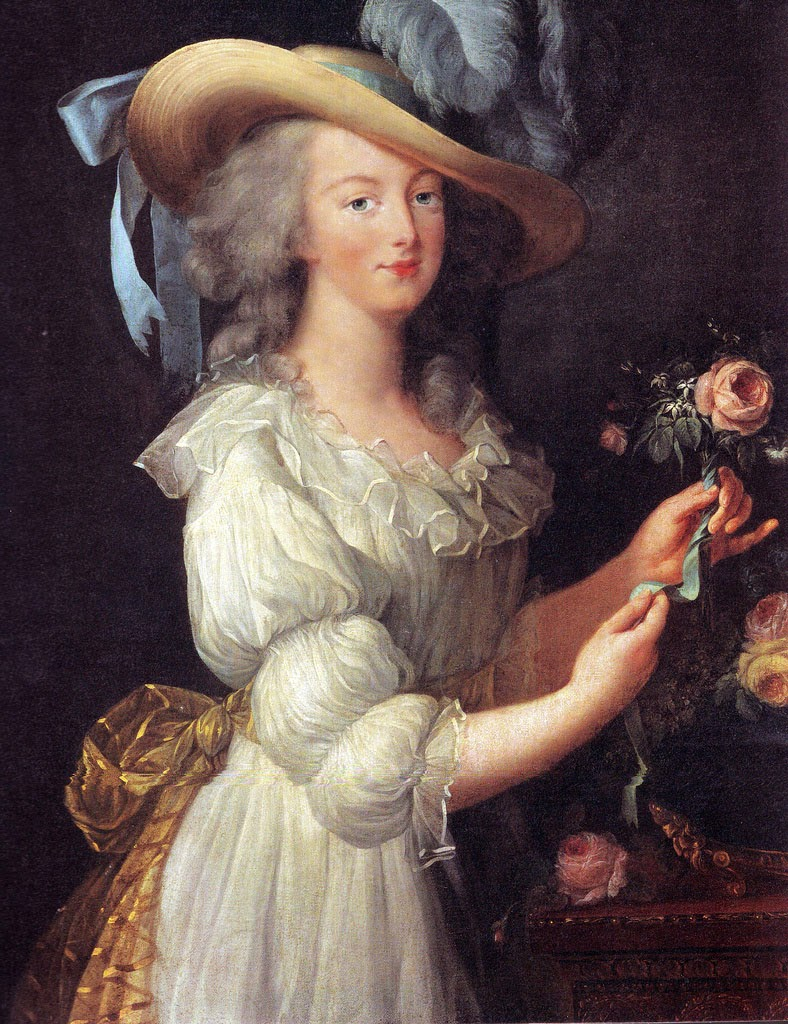 "Marie Antoinette said ""Let them eat cake""."