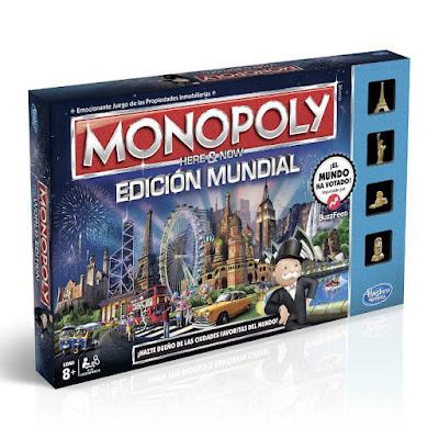 JUGUETES - MONOPOLY : Edición Mundial - 2015  Juego de Mesa | Hasbro  B2348 | A partir de 8 años  Comprar en Amazon España