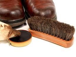 dụng cụ đánh giày da