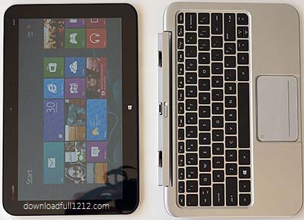 Specification HP Envy x2 touch screen