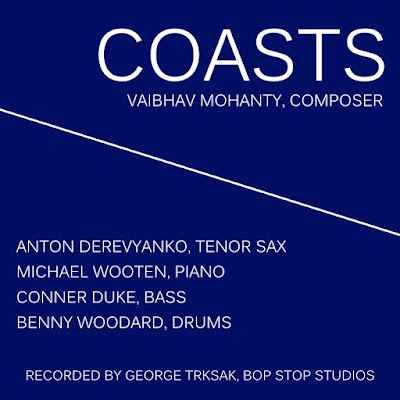 Recorded by Anton Derevyanko (Tenor Sax), Michael Wooten (Piano), Conner Duke (Bass), and Benny Woodard (Drums) at Bop Stop Studios (Medford, MA); Dr. George Trksak, Record and Video Producer.