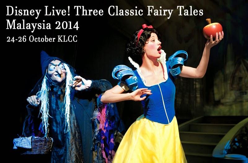 Disney Live! Three Classic Fairy Tales 2014 Malaysia