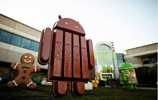 Comercial do Android KitKat