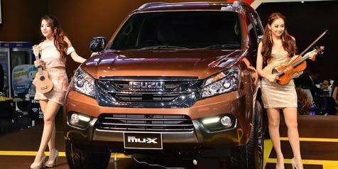 Isuzu MU-X Untuk Indonesia Mengaspal Minggu Depan!
