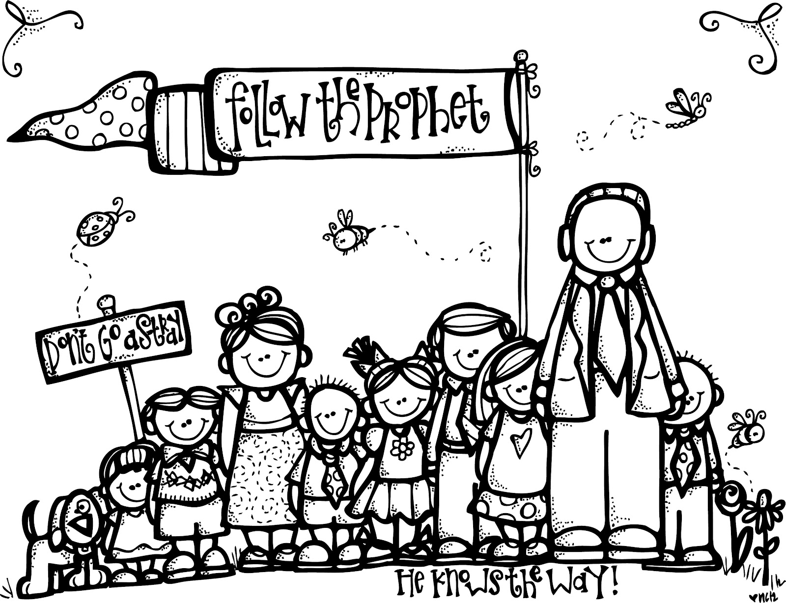 free lds coloring pages - melonheadz lds illustrating march 2012