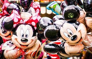 topolino e topolina palloncini