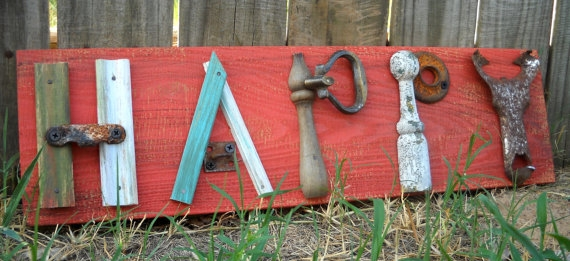 Garden Signs Rustic Garden Signs