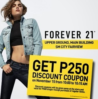 21 forever coupon